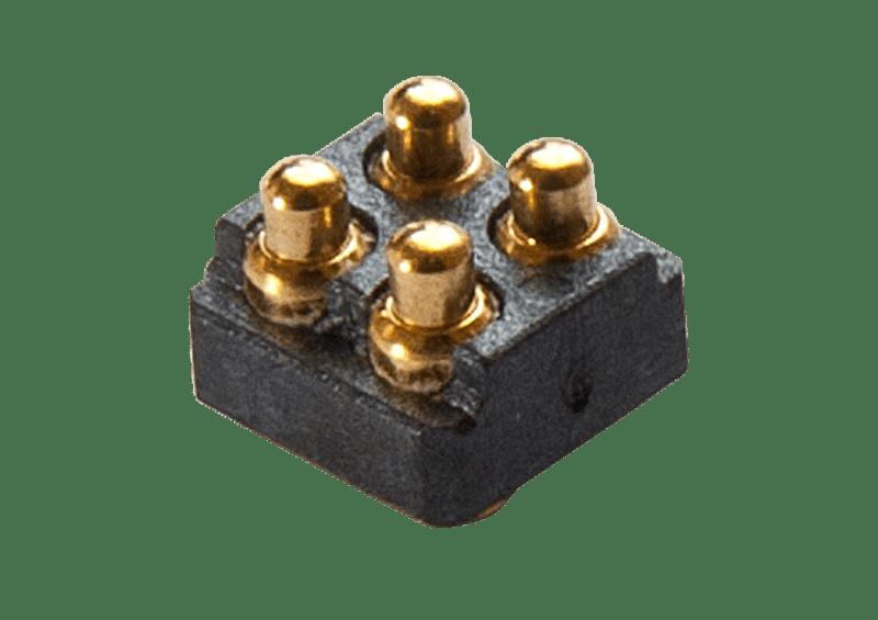 4 pin pogo pin connector